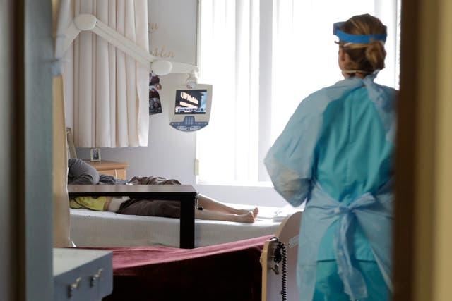Virus Outbreak-Medicare-Nursing Homes