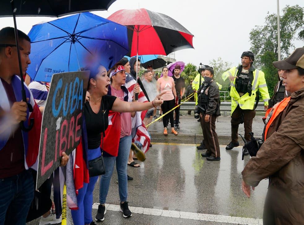 FLORIDA-PROTESTAS
