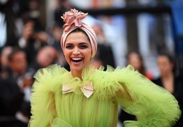 <p>File image: Deepika Padukone at Cannes film festival 2019</p>