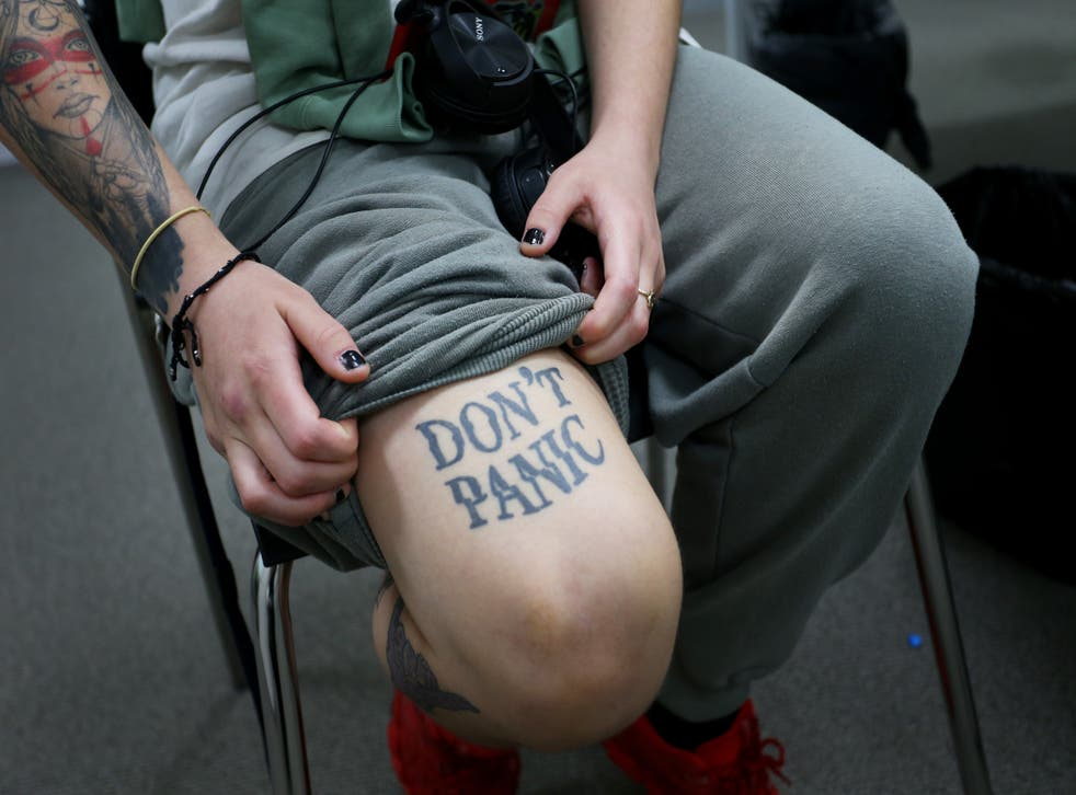 <p>Some Covid survivors are getting tattoos that remind them they are alive and have strength</p>