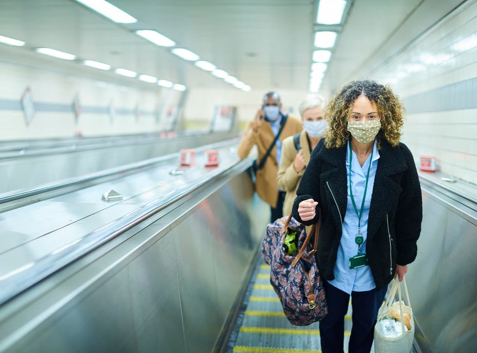 <p>Passengers will still be required to wear masks on Transport for London services</p>