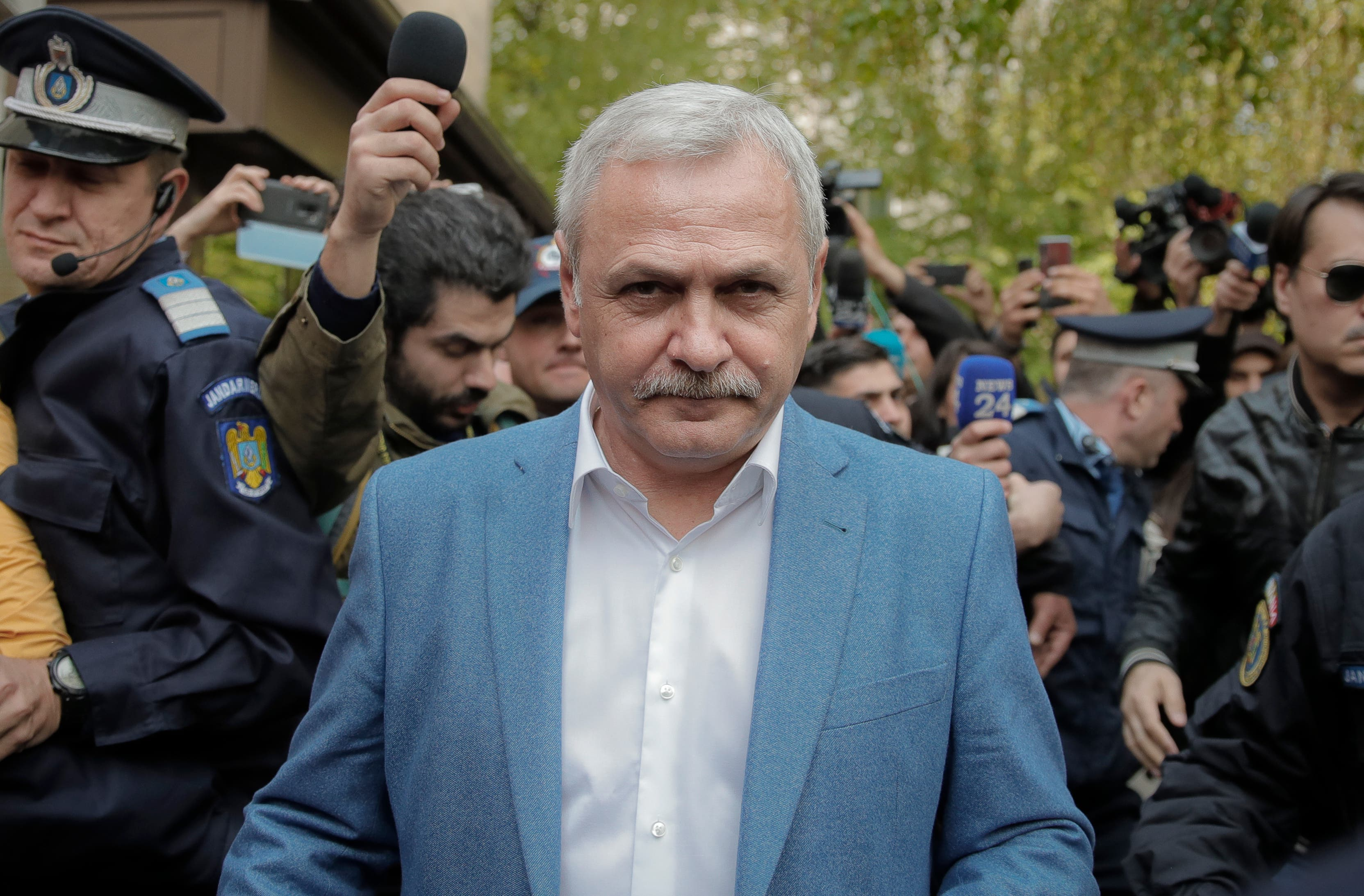 Romania: Former ruling party leader gets early jail release Supreme Court Romania Liviu Dragnea Bucharest