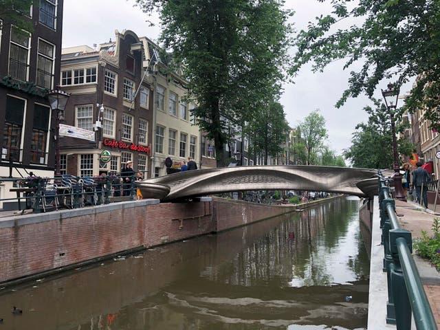 Netherlands 3D Printed Bridge