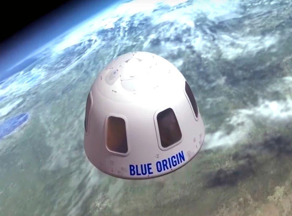 <p>VIAJE ESPACIAL-BLUE ORIGIN</p>