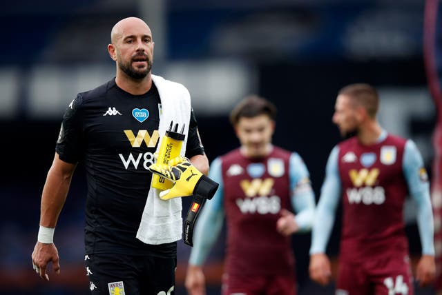 Pepe Reina was the man behind the mask