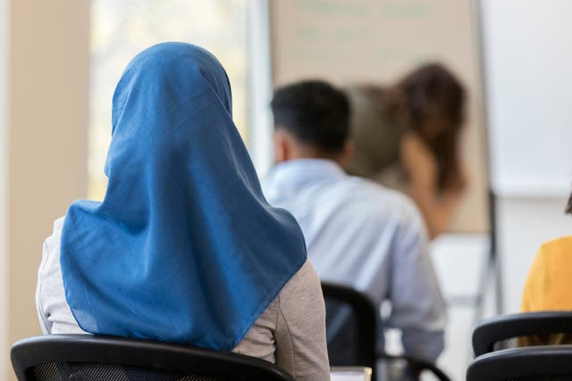 <p>Two cases were brought by Muslim women in Germany who were suspended from their jobs for wearing a hijab</p>