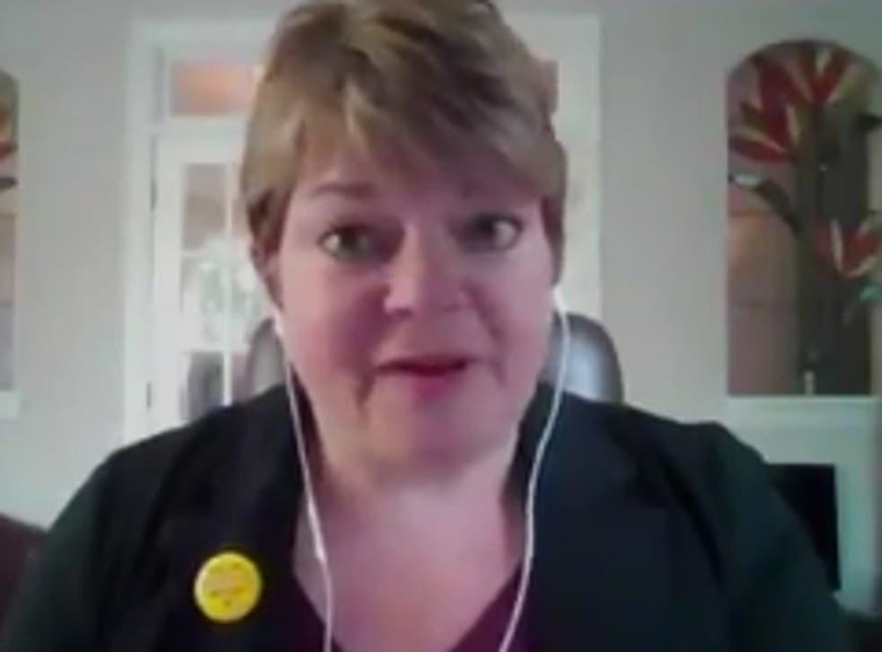 <p>La Dra. Michelle Fiscus, quien fue despedida de su puesto de liderazgo en el Departamento de Salud de Tennessee después de alentar a los adolescentes a vacunarse contra el coronavirus.</p>