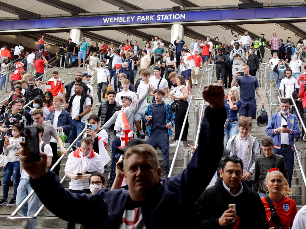 'Wembley variant': Fans were allowed into Euro 2020 games without proof of Covid status