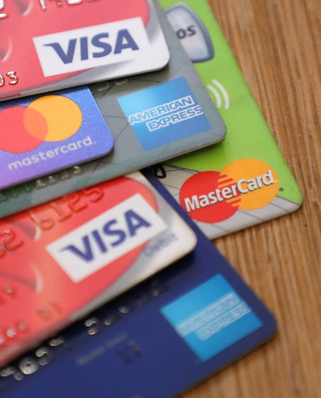 A selection of payment cards