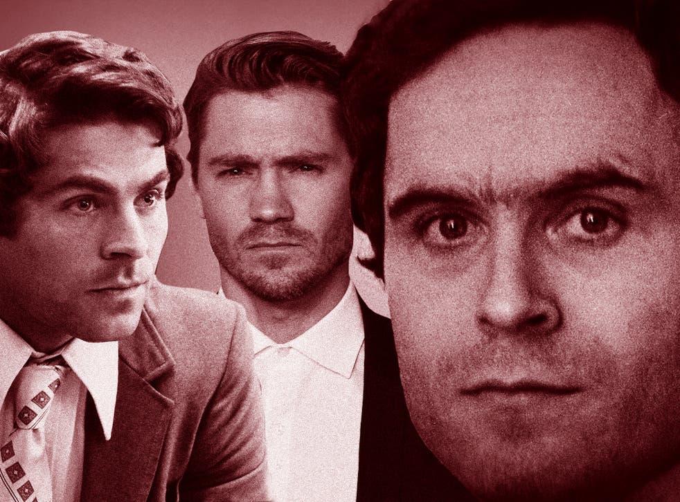 <p>An abundance of Bundys: Zac Efron, Chad Michael Murray and the real Ted Bundy</p>