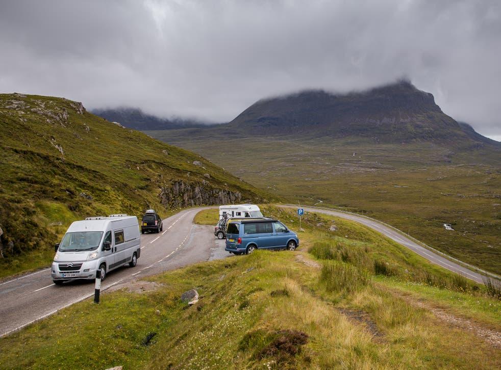<p>Scotland is a popular location for a UK roadtrip</p>