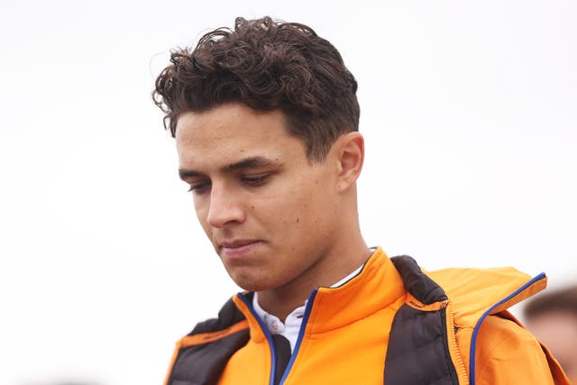 <p>Lando Norris will race in front of home fans at Silverstone this weekend for just the second time</p>