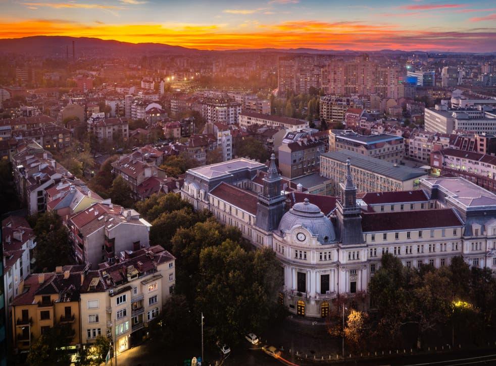 <p>Sofia, Bulgaria</p>