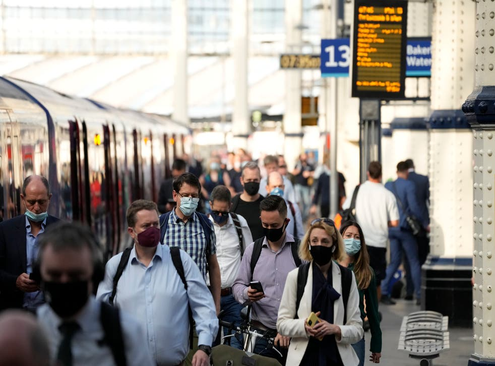 <p>Face masks will still be mandatory on Transport for London services after Monday</p>
