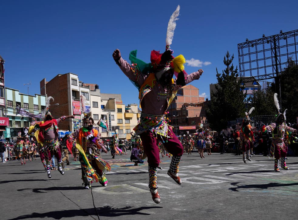CORONAVIRUS-BOLIVIA FESTIVIDAD
