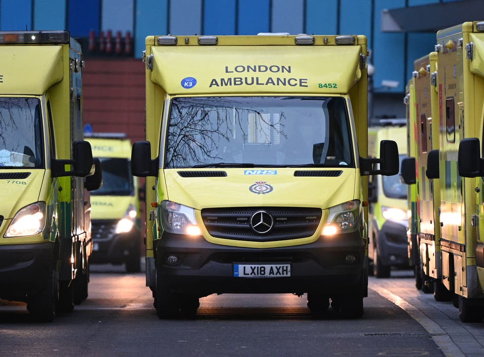 <p>London ambulance service declared a 'business continuity incident' on Monday evening, meaning there was a risk of normal services being disrupted below an acceptable level</p>