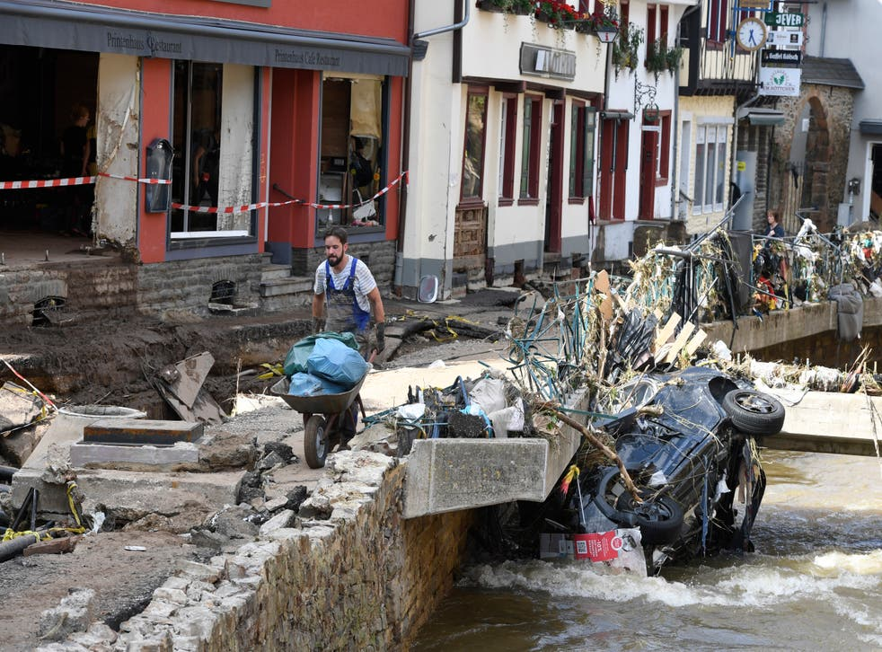 <p>At least 180 have died in unprecedented floods in Germany, Belgium and other parts of western Europe</p>
