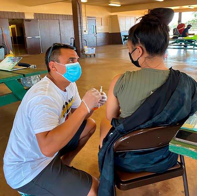 Virus Outbreak Pacific Islanders