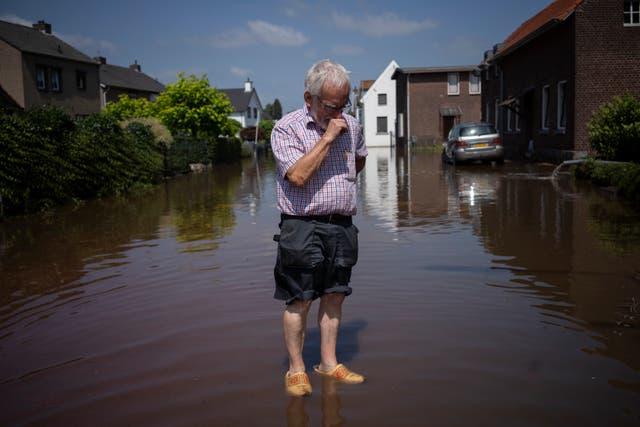 APTOPIX Netherlands Europe Floods