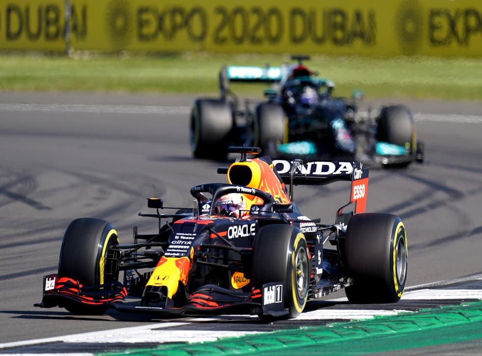 <p>Max Verstappen and Lewis Hamilton crashed on lap one</p>