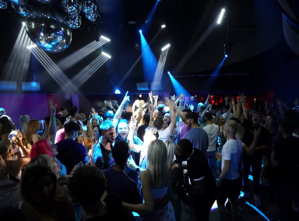 <p>Nightclubs were allowed to re-open again on 19 July</p>