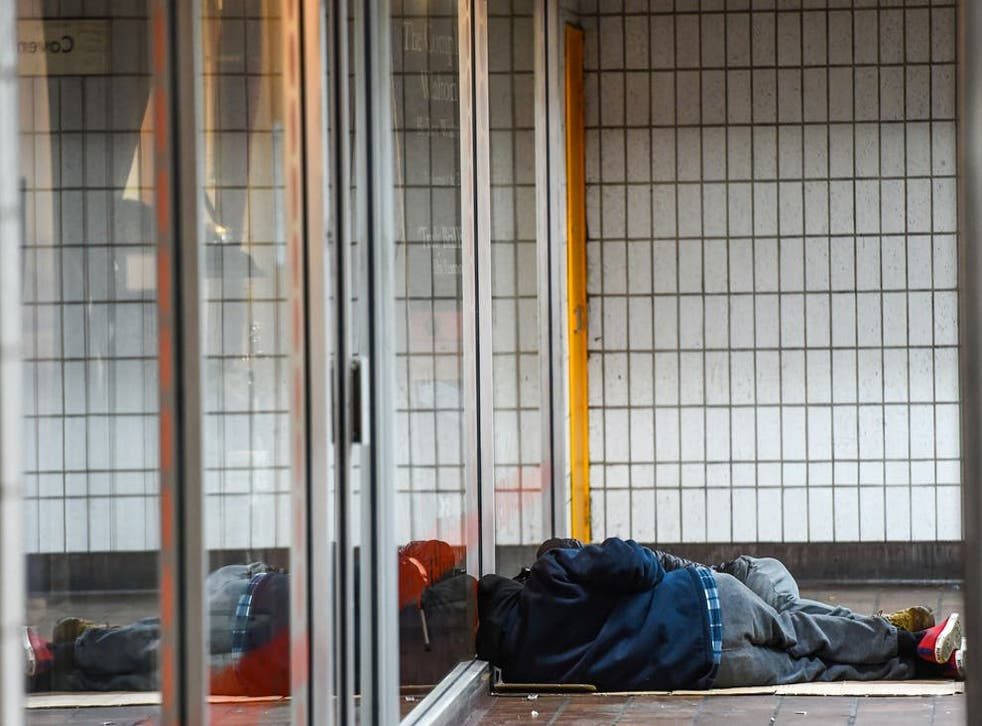 <p>One man who said he felt suicidal after being told he had to leave hotel accommodation where he has been living since March 2020</p>