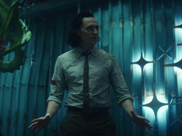 <p>Tom Hiddleston en 'Loki'</p>