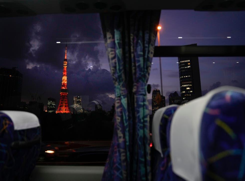 TOKIO DESDE EL BUS