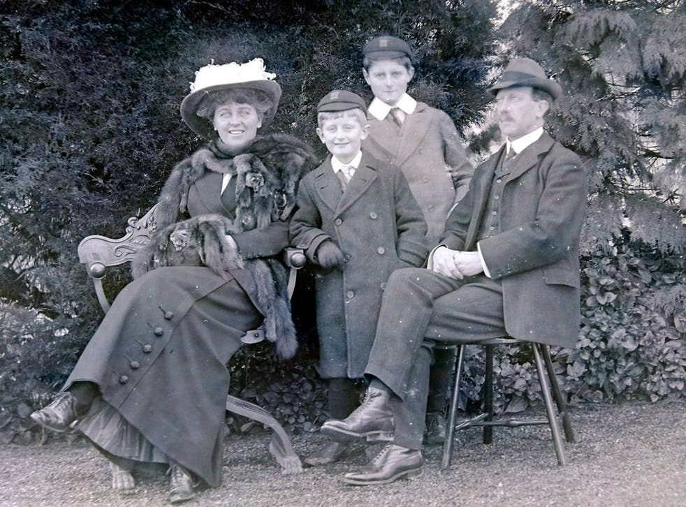 <p>The Fletchers, with  Annie, Sidney and the boys</p>