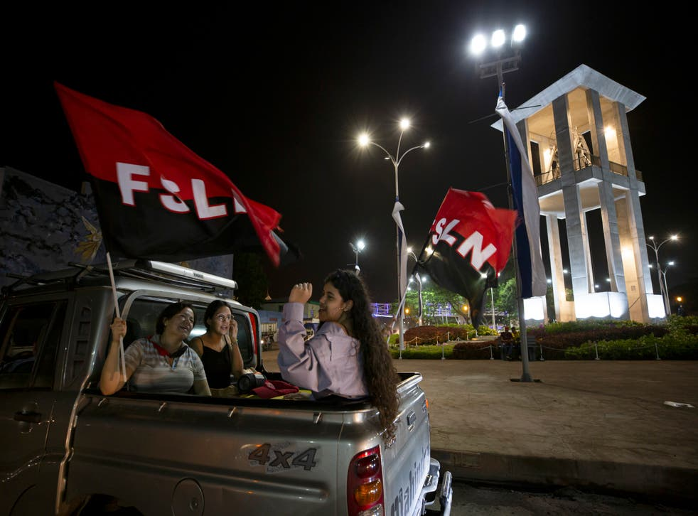 Nicaragua Sandinista Revolution Anniversary