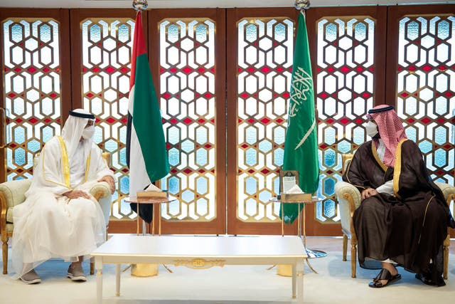 Saudi Arabia UAE