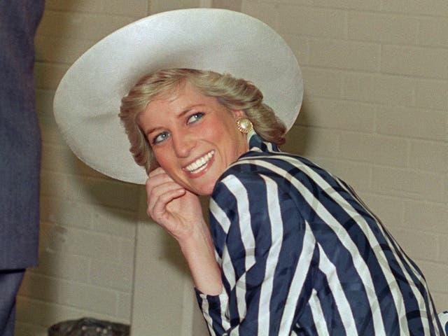 <p>Princess Diana in 1988</p>