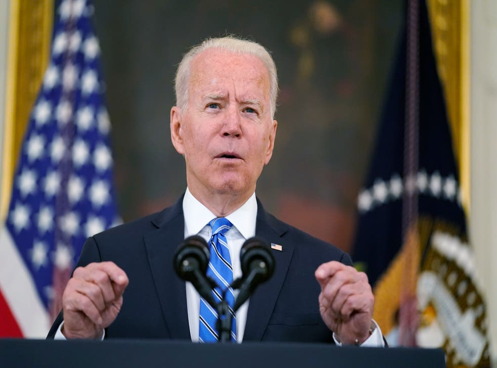 <p>President Joe Biden delivers an address on the economy at the White House.</p>