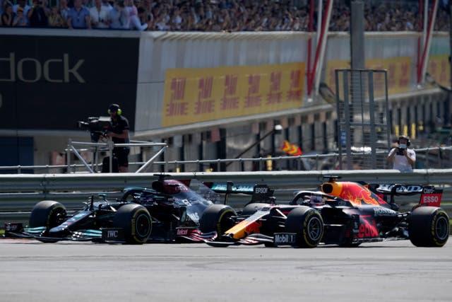 F1 HAMILTON VERSTAPPEN