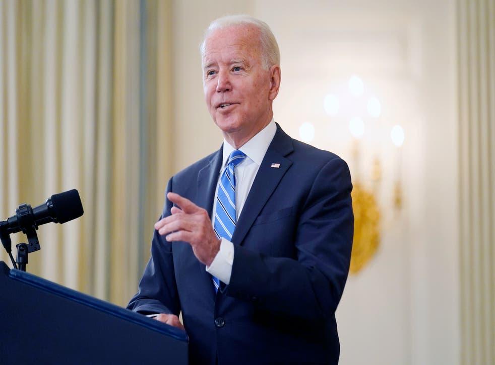 <p>The policies of Joe Biden have been in marked contrast to his predecessor Donald Trump</p>