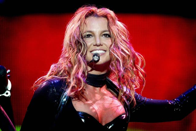 <p>File image: Britney Spears performs in Rotterdam in 2004</p>