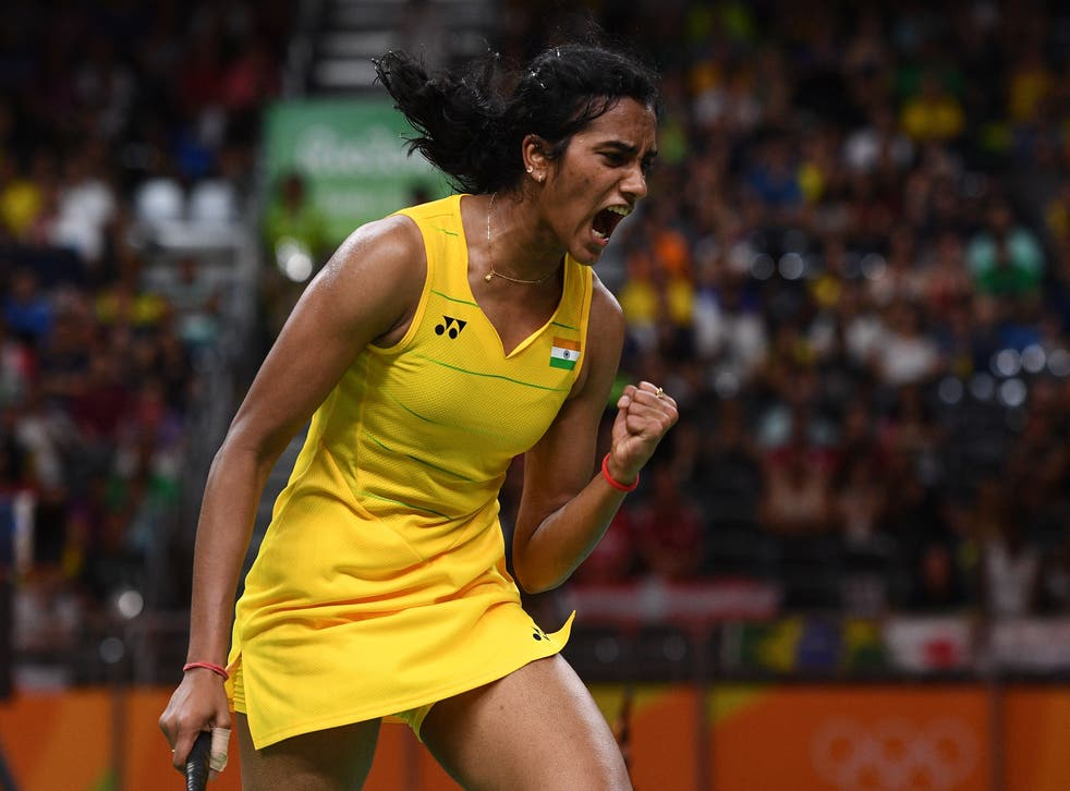 <p>PV Sindu was first Indian shutter win silver medal at 2016 Rio Olympics</p>