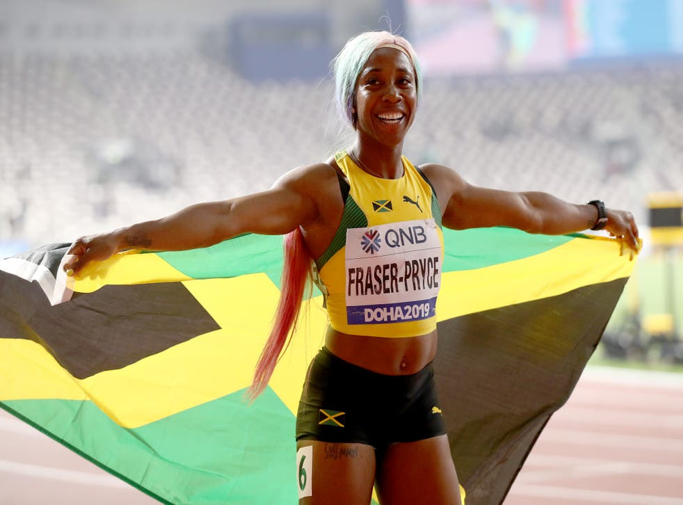 <p>Shelly-Ann Fraser-Pryce returned to the top of the sprinting game with her world title in the 100m in 2019</p>