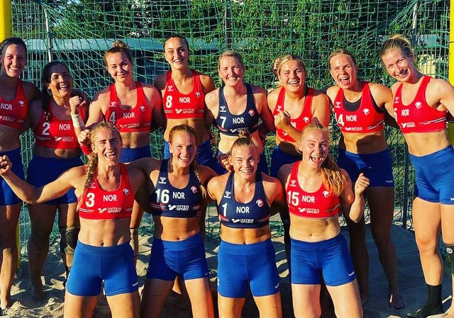 <p>The Norwegian women's team elected to accept the fine rather than back down and wear bikini bottoms</p>