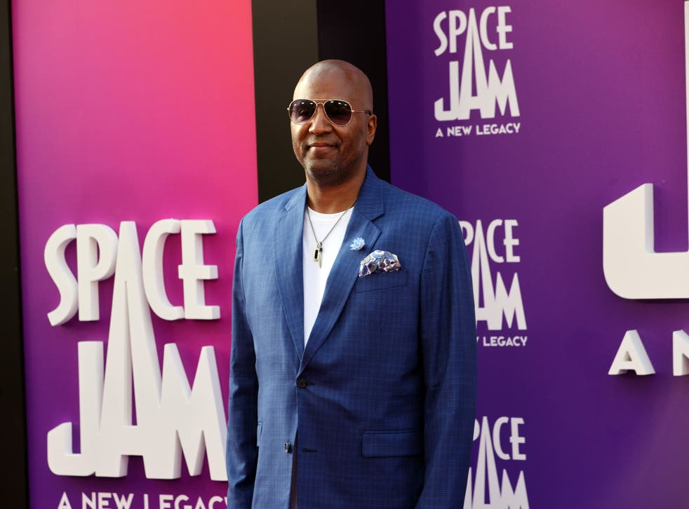 <p>Malcolm Lee at the premiere of 'Space Jam: A New Legacy' in Los Angeles on 12 July</p>
