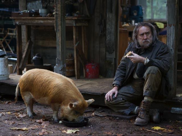 <p>Nicolas Cage in 'Pig'</p>