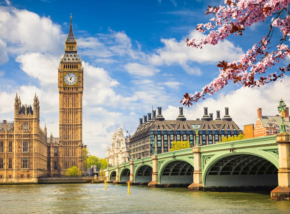 <p>Time for a visit? Big Ben and Westminster Bridge</p>