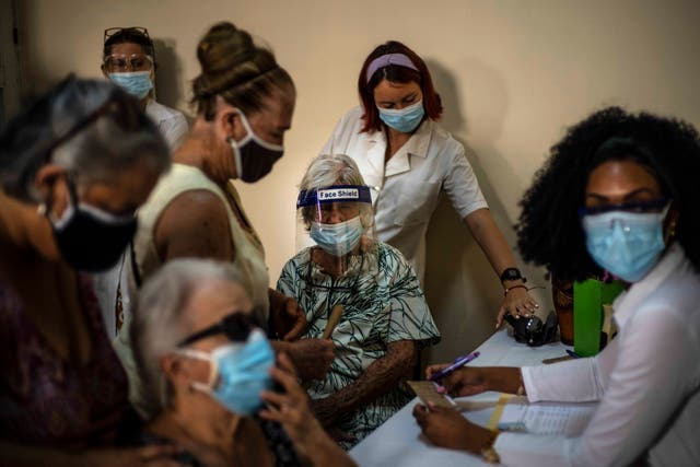 Virus Outbreak Cuba