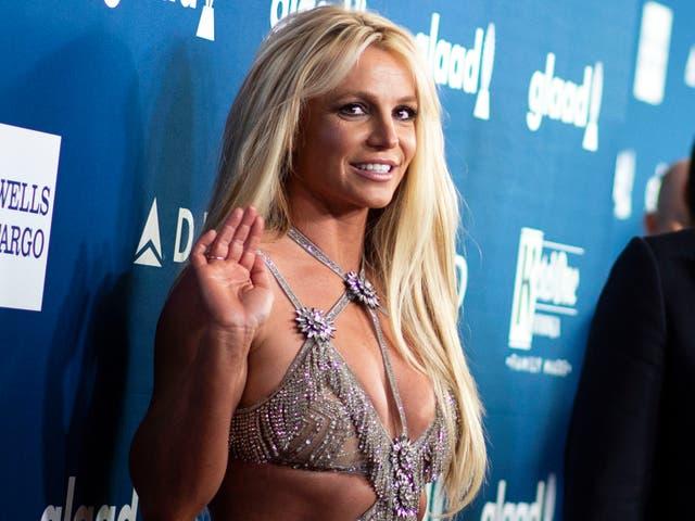 <p>Britney Spears asiste a la 29a Anual de GLAAD Media Awards en el Beverly Hilton el 12 de abril de 2018 en Beverly Hills, California</p>