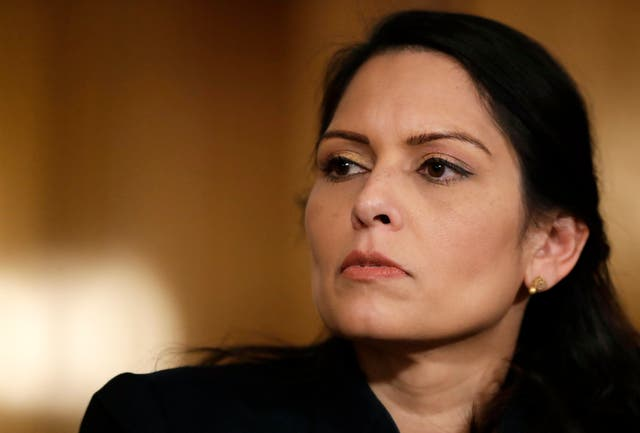 <p>Priti Patel was urged to halt a mass deportation to Zimbabwe over the country's human rights situation</p>