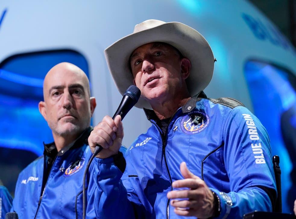 Blue Origin Bezos