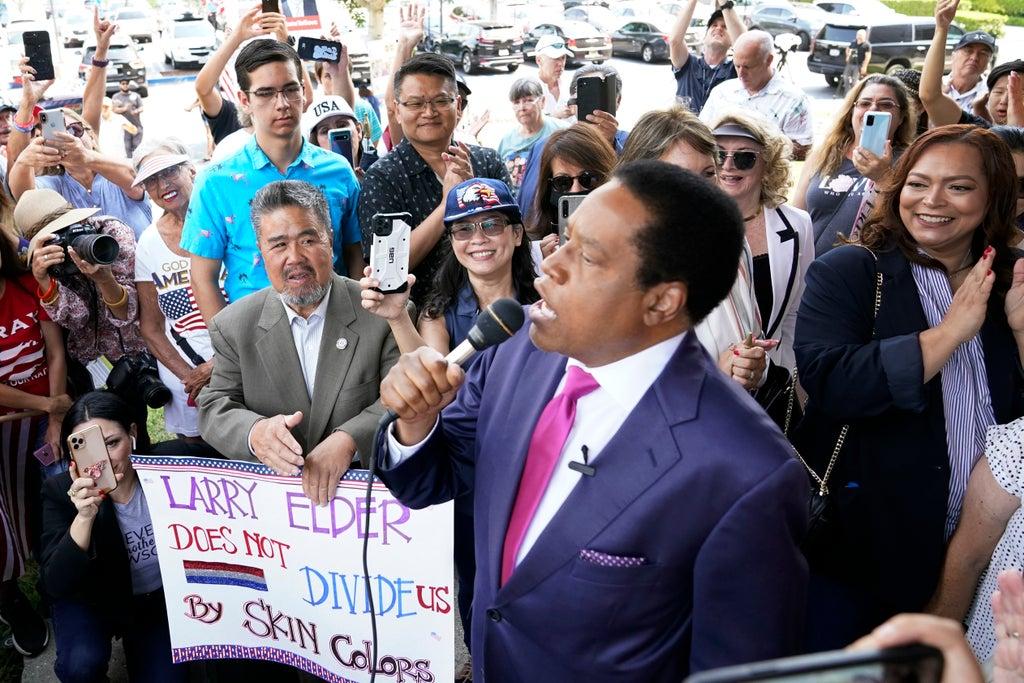 Radio host Larry Elder wins fight to enter California recall San Diego Democratic Gavin Newsom Mayor California
