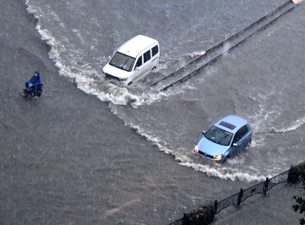 <p>China Flooding</p>