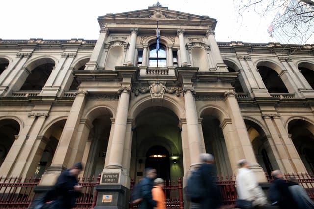 <p>Supreme Court of Victoria in Melbourne, Australia</p>