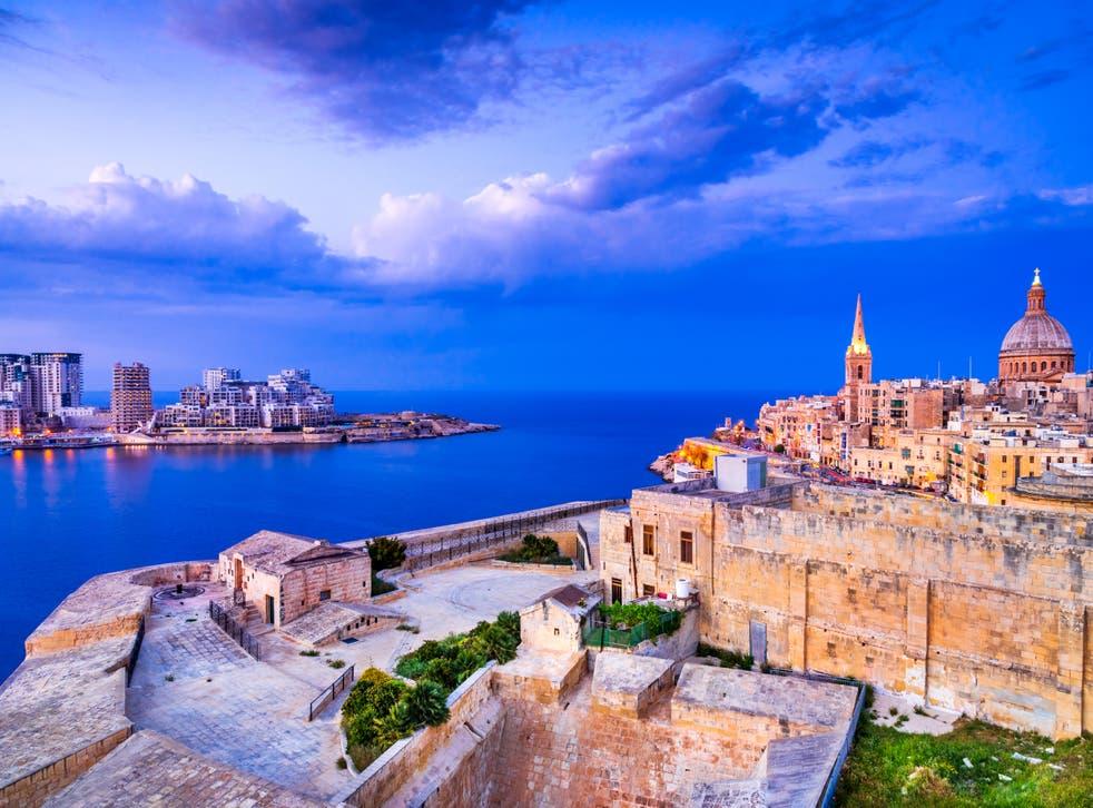 Marsamxmett Harbour and Silema city